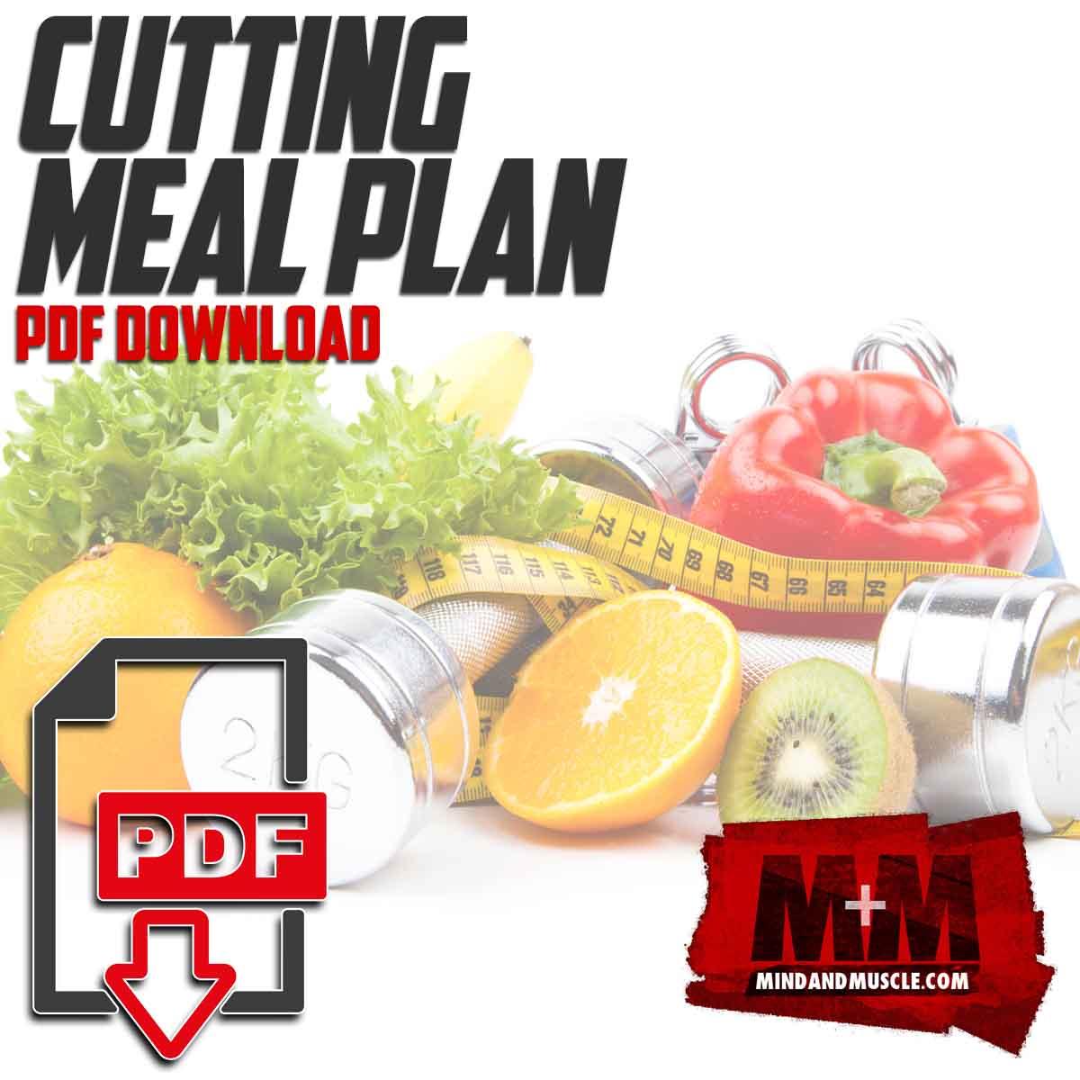 Best Diet Plan When Cutting