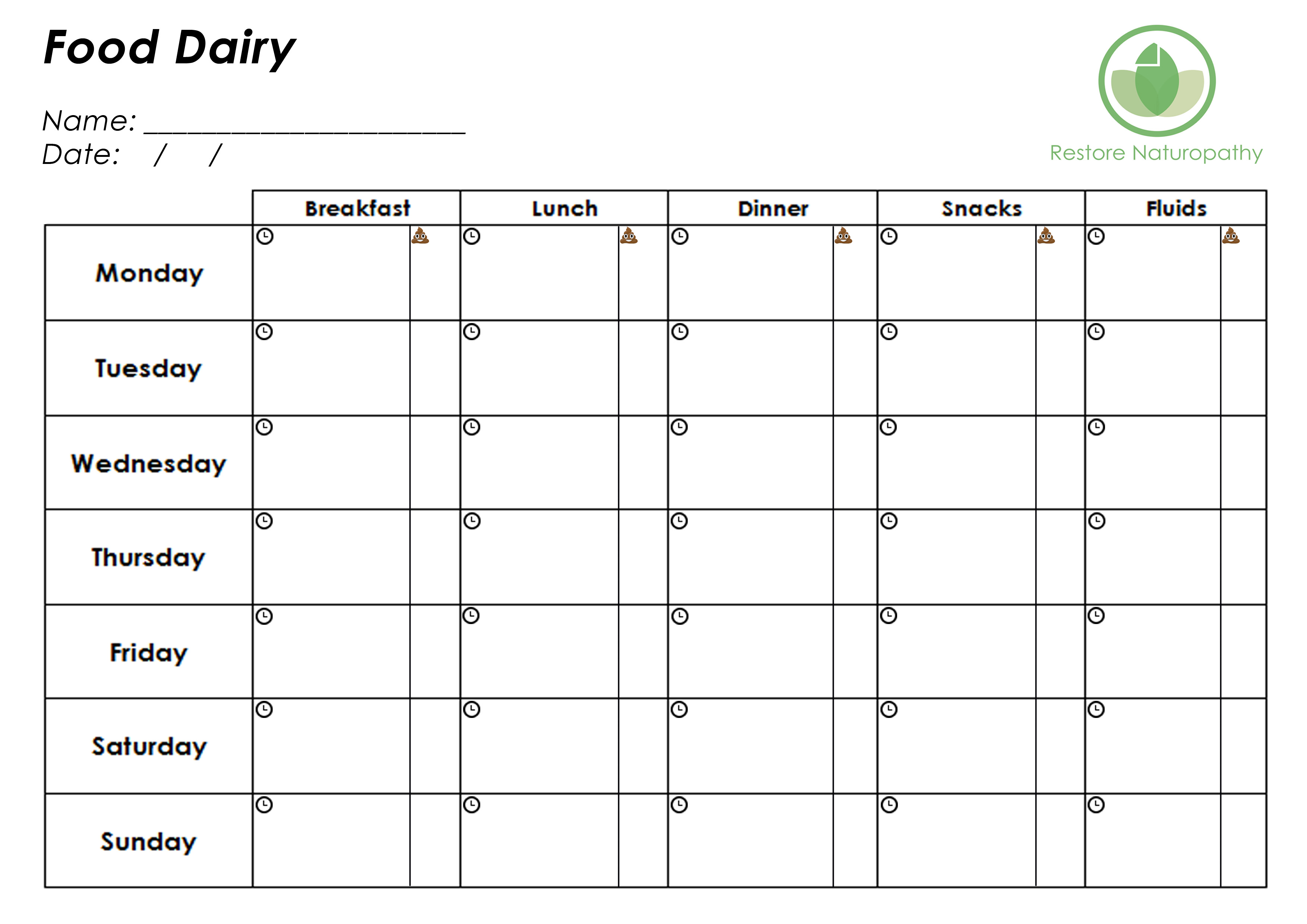 keeping a food diary template - feelings diary template anger diary worksheet therapist