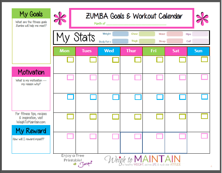 Free Printable Food Charts For Weight Loss For Older Women