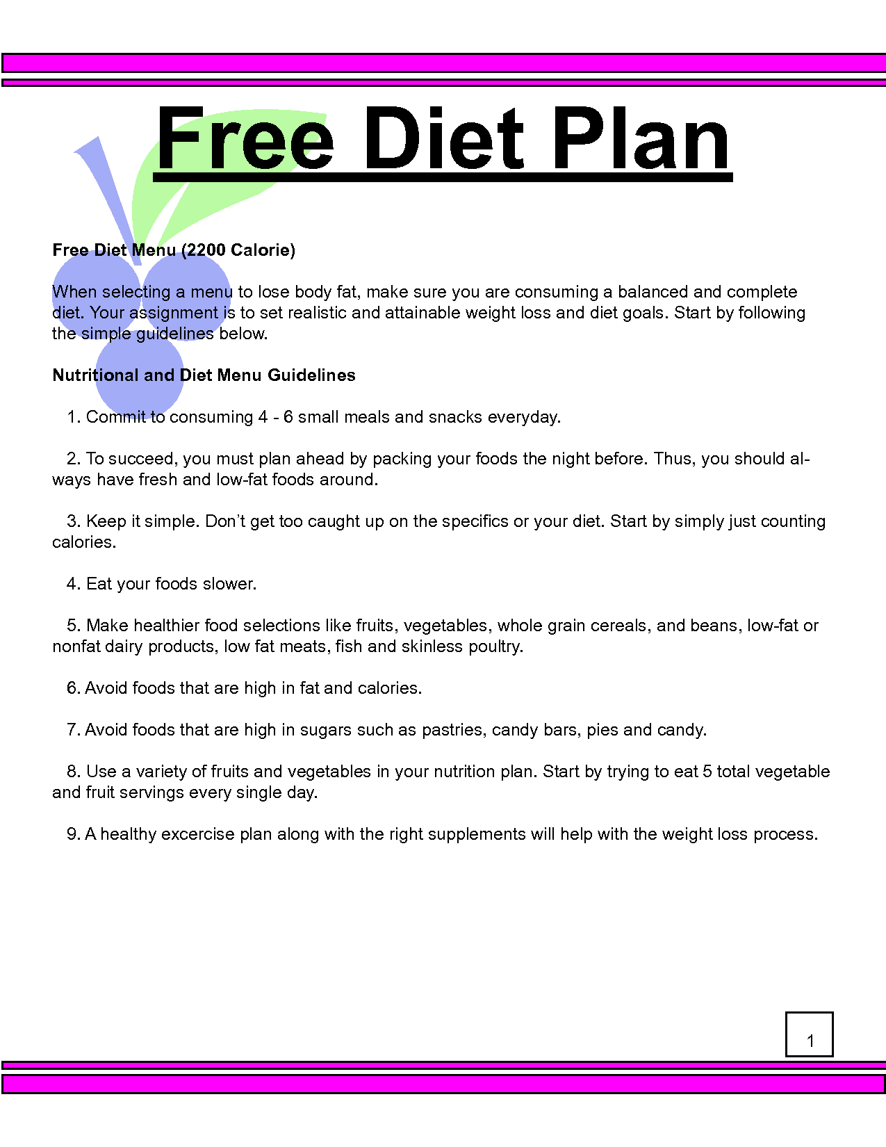 Diet Plan Calculator For Weight Loss Opalskyviewthuducfo Gallery