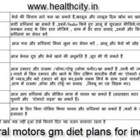 7 days diet plan general motors diet plan for General motors diet plan