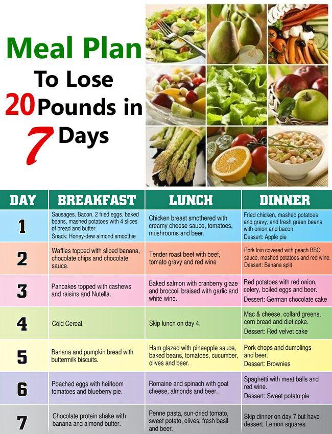 Diet Plan Lose 30 Pounds Diet Plan