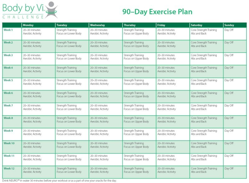 90 Day Diet And Exercise Plan – Diet Plan