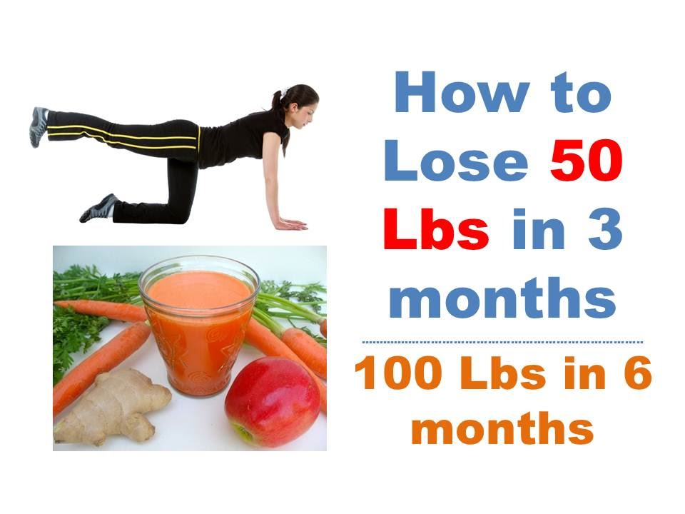 weight lose 50 pounds