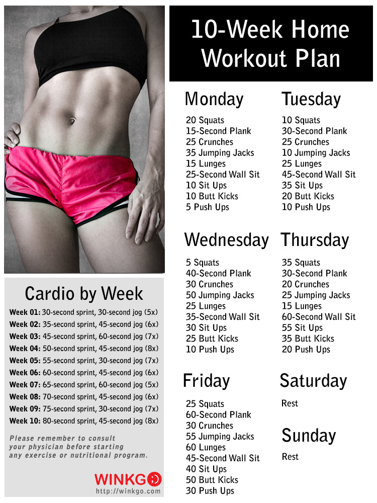 cardio lose weight plan