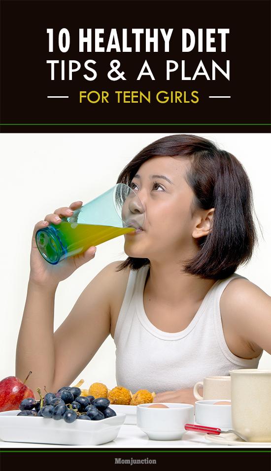 Plan teens diet for