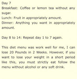 Honey fat loss diet picture 3