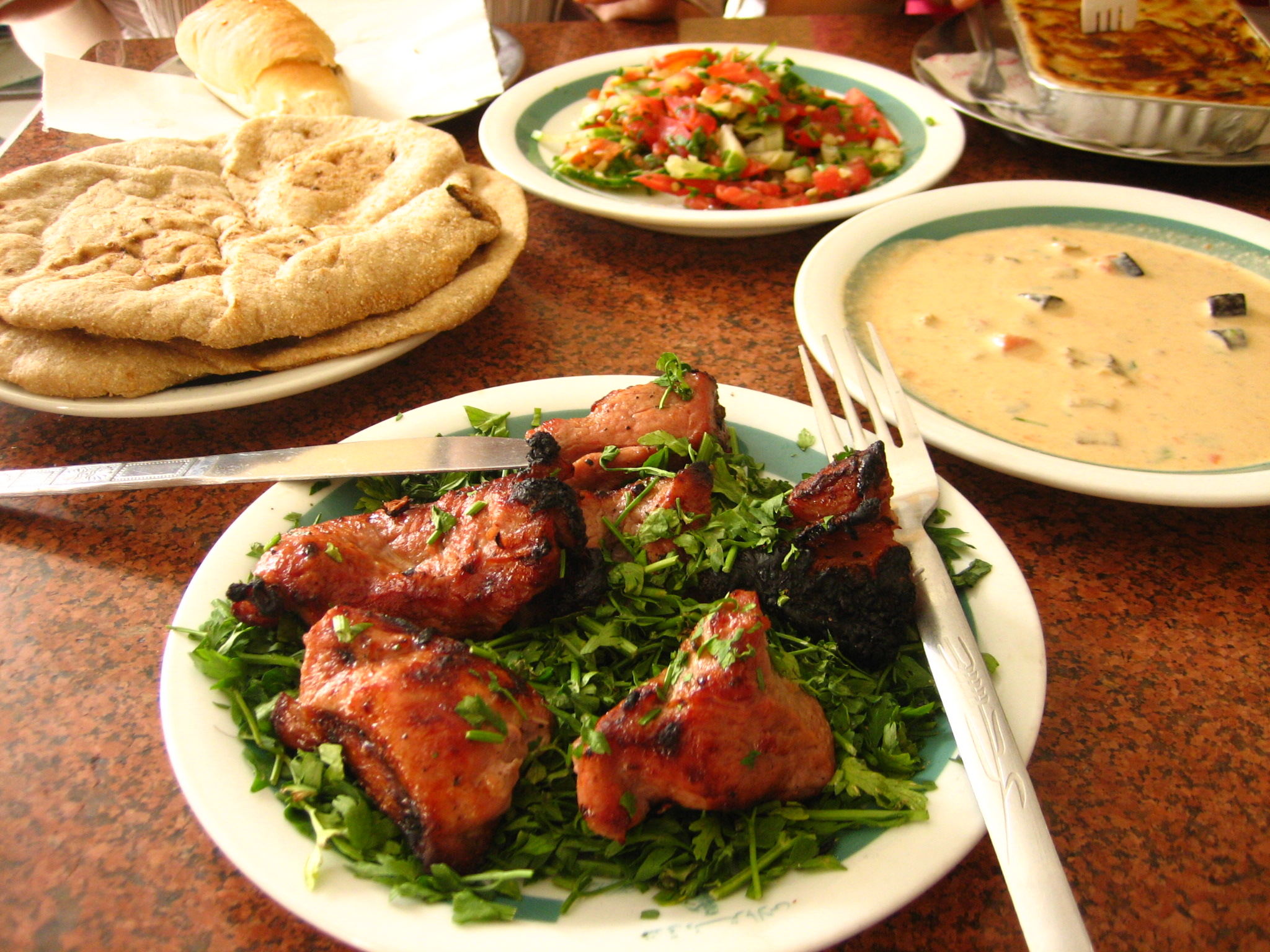 Pictures of egyptians food