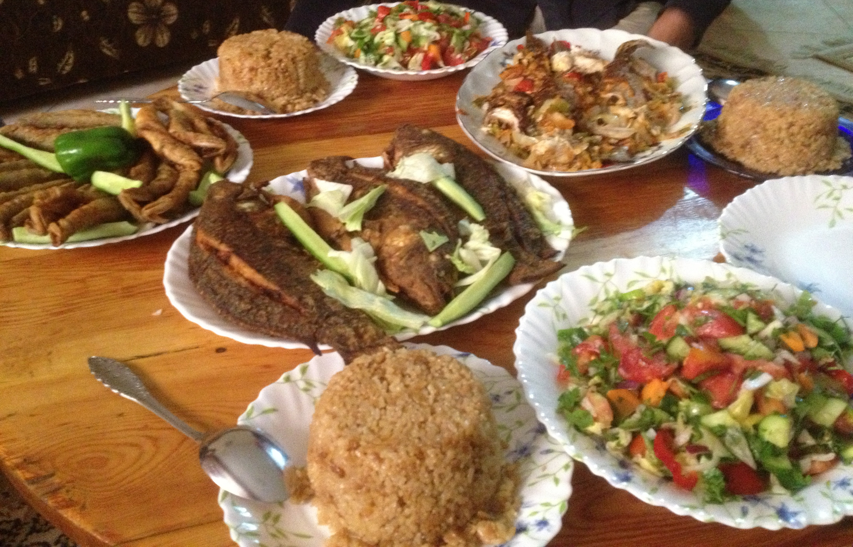 Ancient Pictures of egyptians food