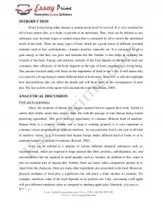 Examples Of A Proposal Essay Or Good Thesis Statements For Essays also Learning English Essay Example Diet Food Essay  Diet Plan Pollution Essay In English