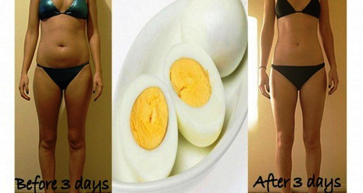 Яичная диета похудела на 15 кг
