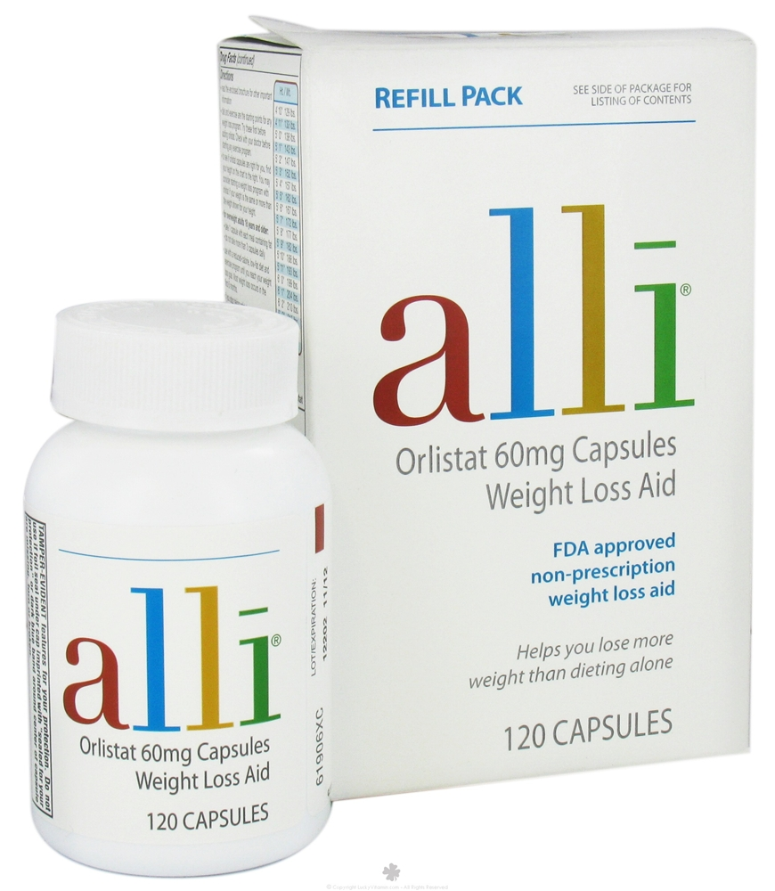 Alli diet pills price