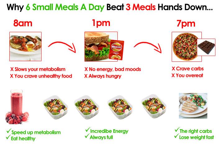 Diet Plan 6 Meals A Day Diet Plan