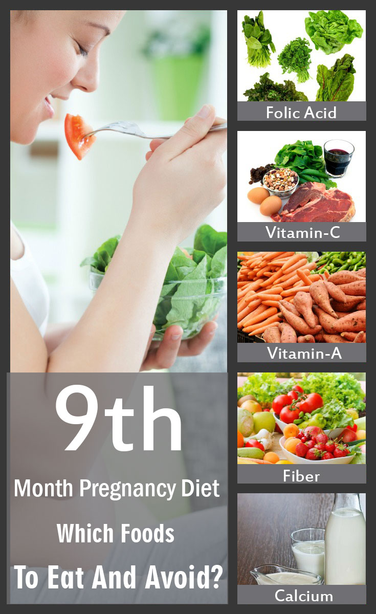 Pregnancy month nine: Time to recap your nutrition tips