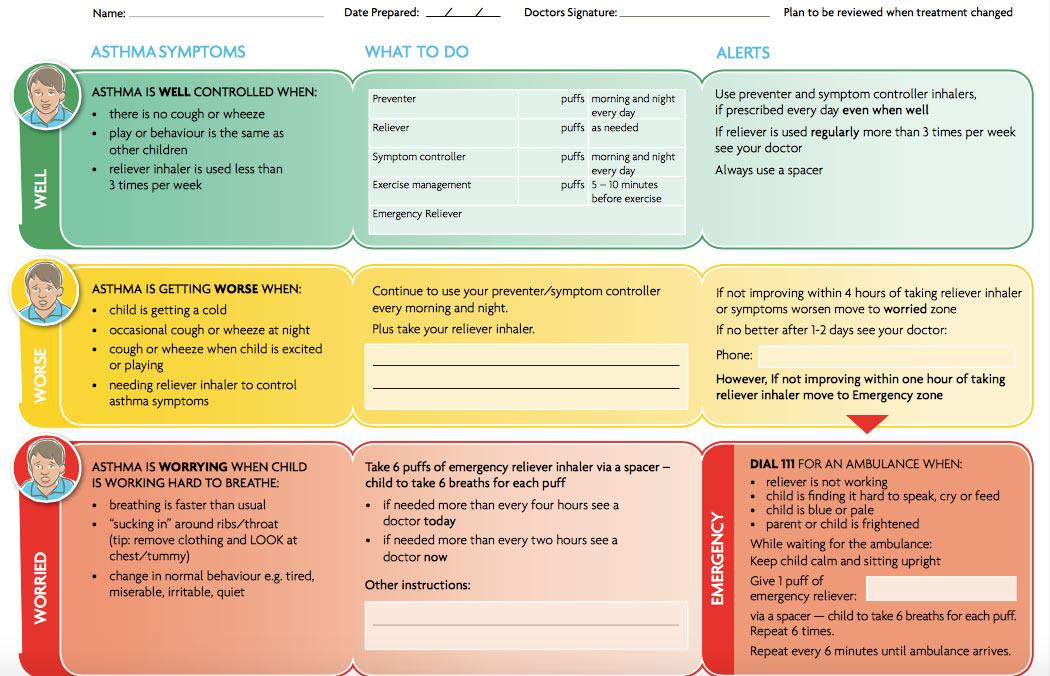 Diabetes Emergency Action Plan – Diet Plan