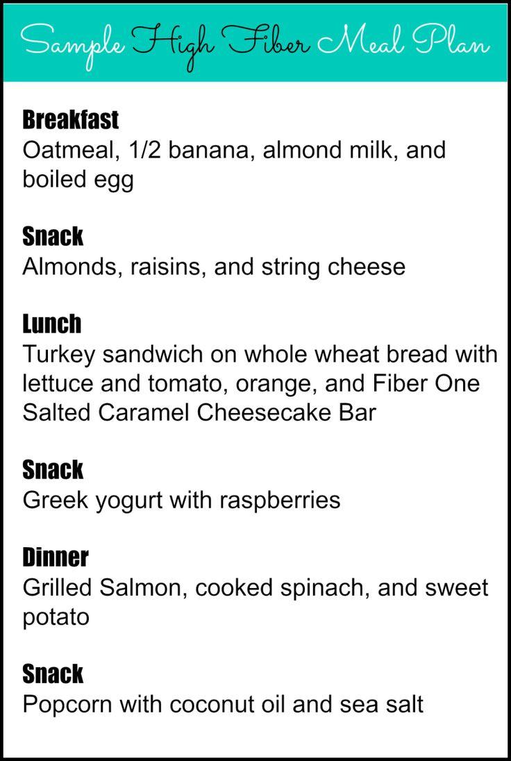 High Fiber Diet Menu For Diverticulitis