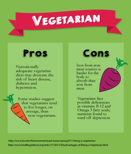 pros cons vegetarianism essay Pros cons vegetarianism and essay