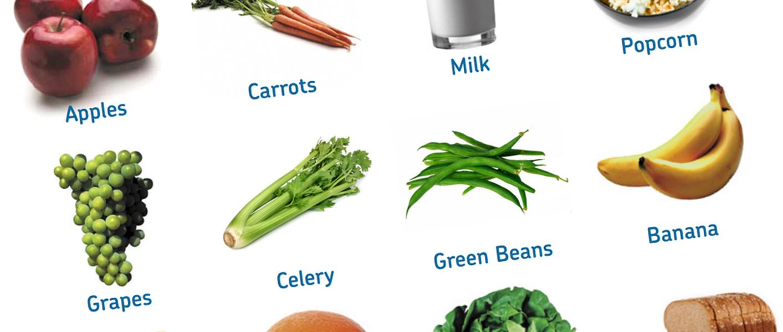 Healthy Food List Printable - Diet Plan