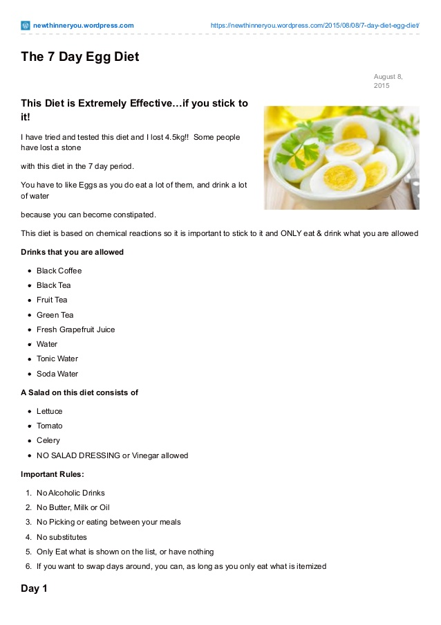 Chemical reaction diet meal plan